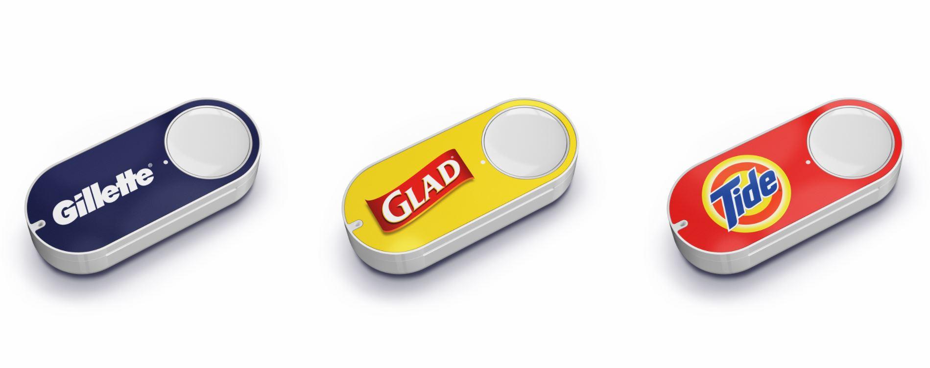 Amazon Dash Button - кнопка заказа товаров на дом