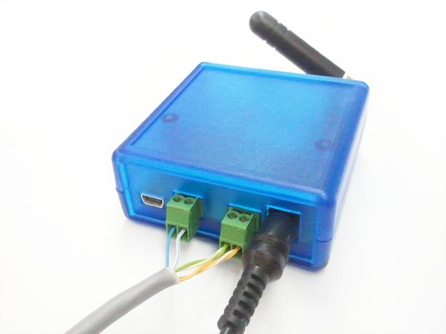 GSM модем схема подключения
